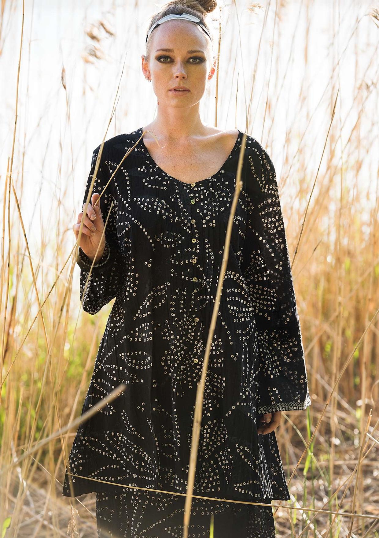 Mønstrete plagg i bomull, silke, lin og lyocell | Gudrun Sjödén